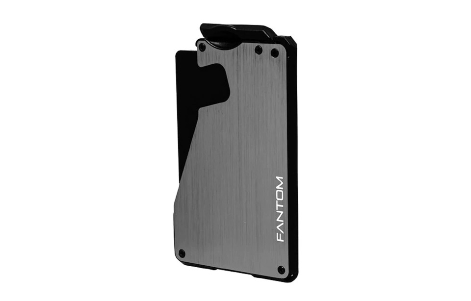Fantom – 10cc slimwallet – unisex – Silber aluminium