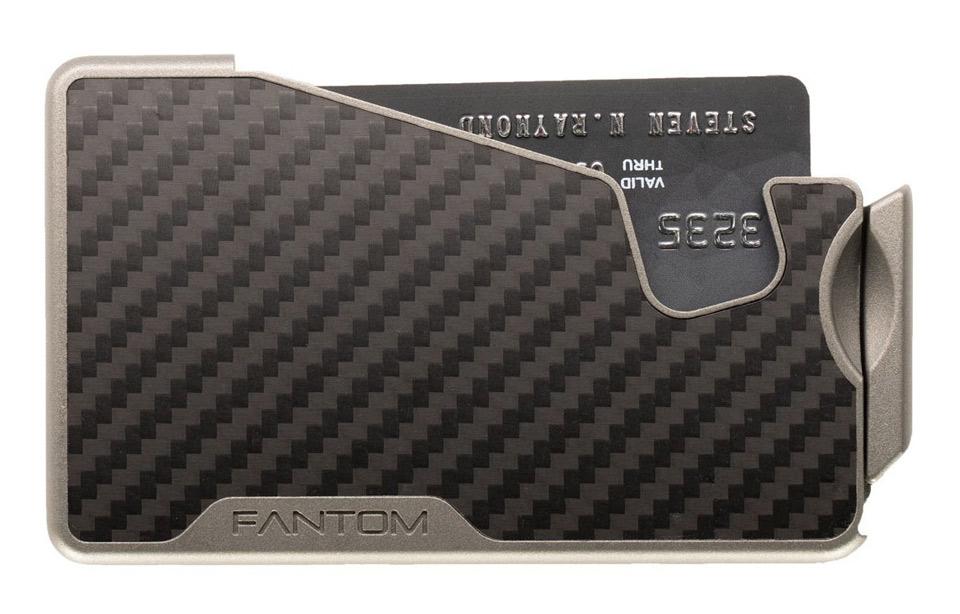 Fantom R – 10cc slimwallet – unisex – carbon fiber